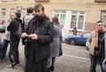 У Замоскворецкого суда во время вынесения приговора Михаилу Косенко. Фото Дмитрия Борко