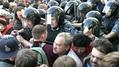 """После рассечения ОМОН """"препровождает людей к метро во избежание давки и опасности"""""""