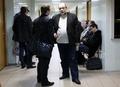 Отец политзека Илья Константинов в коридоре суда. Фото Евгении Михеевой/Грани.Ру