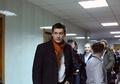 Дмитрий Гудков в Чертановском суде в день несостоявшегося приговора Даниилу Константинову. Фото Евгении Михеевой/Грани.Ру