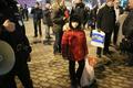 Дочь Таисии Осиповой Катрина на Триумфальной 31 декабря 2013 года. Фото Евгении Михеевой/Грани.Ру