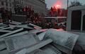 """Противостояние у стадиона """"Динамо"""" в Киеве. Фото Григория Василенко/РИА """"Новости"""""""