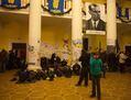 Штаб революции в киевской мэрии. Фото Юрия Тимофеева/Грани.Ру