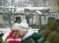"""Утренняя атака """"Беркута"""" 22.01.2014. Фото Юрия Тимофеева/Грани.Ру"""