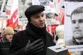 Владимир Акименков на шествии 2 февраля. Фото Евгении Михеевой/Грани.Ру