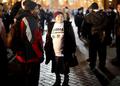 Задержание Марии Рябиковой на Манежной 6 февраля 2014 года. Фото: Е.Михеева/Грани.Ру