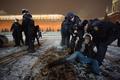 Задержание Рэйды Линн на Красной площади 7 февраля. Фото: Ю.Тимофеев/Грани.Ру