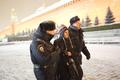Задержание Анны Анненковой на Красной площади 7 февраля. Фото: Ю.Тимофеев/Грани.Ру