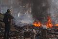 Майдан, 19 февраля. Фото Дмитрия Борко