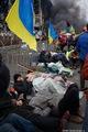 Майдан готовится к новому штурму 19 февраля. Фото Дмитрия Борко