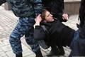 Задержание Алексея Никитина на Манежной 02.03.2014. Фото Е.Михеевой/Грани.Ру