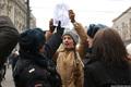 Антивоенный протест на Манежной 02.03.2014. Фото Е.Михеевой/Грани.Ру