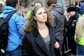 Мария Алехина на Марше мира. Фото: Е.Михеева/Грани.Ру