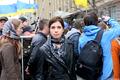 Надежда Толоконникова на Марше мира. Фото: Е.Михеева/Грани.Ру