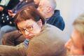 Галина Тимченко на совещании по блокировкам сайтов. Сахаровский центр, 21.03.2014. Фото Ники Максимюк