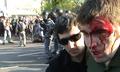 Избиение Гаскарова. Кадр видеозаписи, приобщенной следствием к делу.