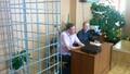 Александр Бывшев с адвокатом в зале суда. Фото Юрия Тимофеева/Грани.Ру