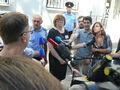 У здания горсуда Донецка Ростовской области перед началом суда над Савченко. Фото: Грани.Ру