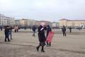 Митинг в поддержку Кадырова в Грозном. Фото Александры Соколовой