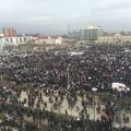 Митинг в поддержку Кадырова в Грозном. Фото: Аза Мусаева/Грани.Ру