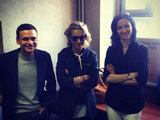 Илья Яшин, Ксения Собчак и Анастасия Удальцова в Следственном комитете. Фото Алексея Навального