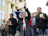 У Мосгорсуда в день кассации. Фото Людмилы Барковой