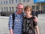Анастасия Рыбаченко и Михаил Маглов - политбеженцы Болотного дела. Из личного архива