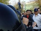 Михаил Косенко на Болотной. Кадр видеозаписи