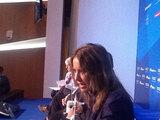 Ксения Собчак на заседании Валдайского клуба. Фото из твиттера Николая Злобина