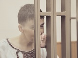 Надежда Савченко в горсуде Донецка, 02.03.2016. Фото: Дмитрий Борко/Грани.Ру